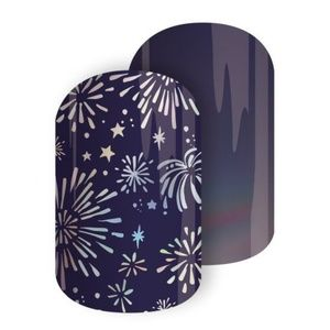 B4G1 Sparkling New Year nail wrap